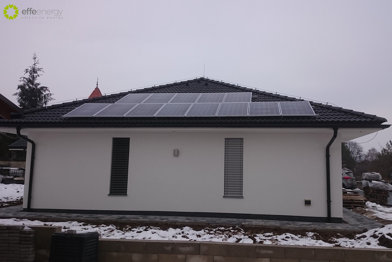 fotovoltické fotovoltaické panely elektráreň systém on grid solárna energia